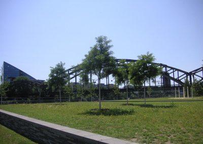 Frankfurt am Main, Hafenpark an der EZB