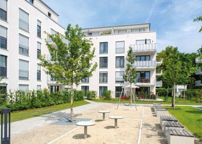 München – Wohnanlage Engelbertstrasse