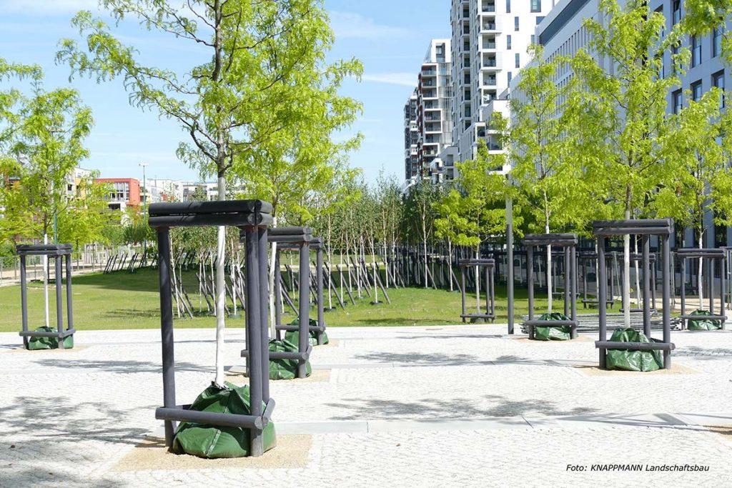 Quartier Central 'KNAPPMANN-Landschaftsbau'