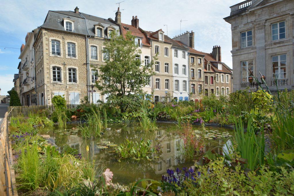 Boulogne sur Mer Jardin Ephémère La Fontaine