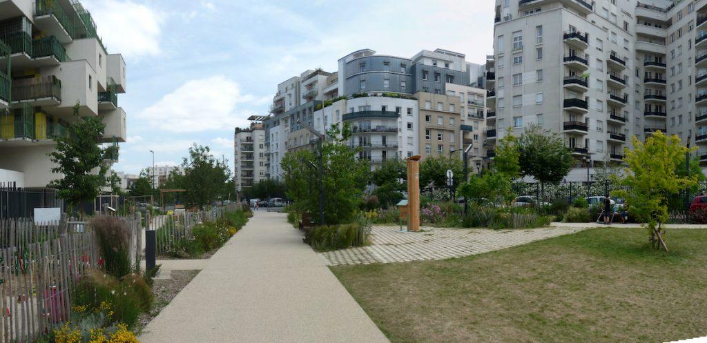 Courbevoie Jardin partagé photos Silva Landscaping