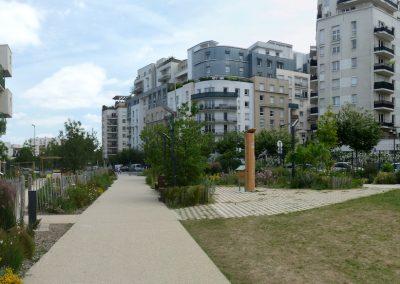 Courbevoie Jardin partagé